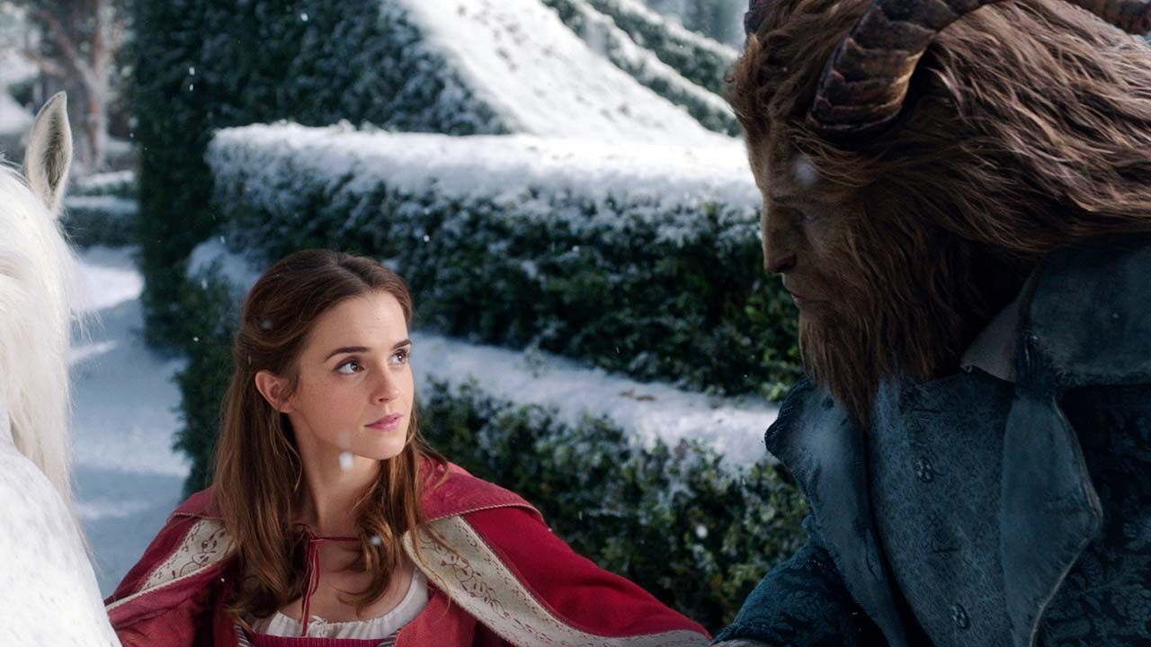 Beauty and the beast hookup in real life