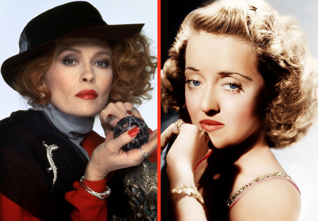 Image result for faye dunaway and bette davis""
