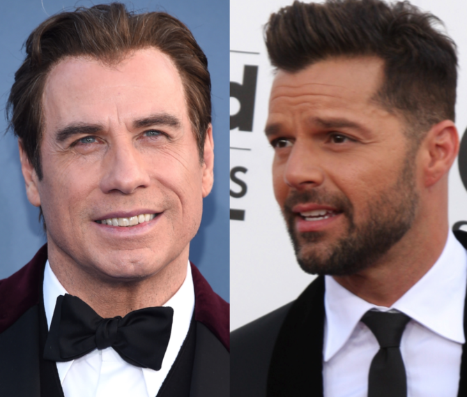 This just in: John Travolta helped stir up Ricky Martin's gayness