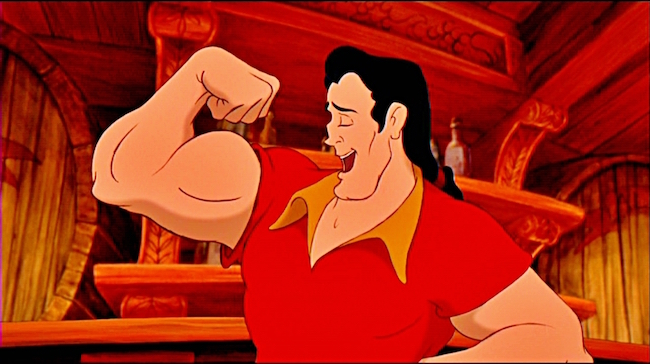 Gaston Beauty And The Best GIF - Gaston BeautyAndTheBest HairyChest -  Discover & Share GIFs