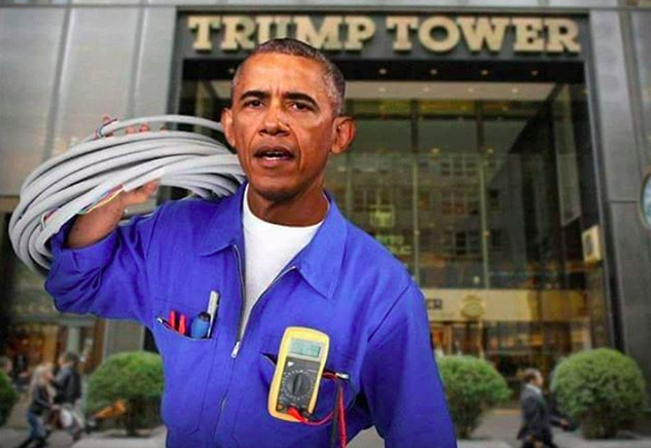 Image result for trump wiretap meme