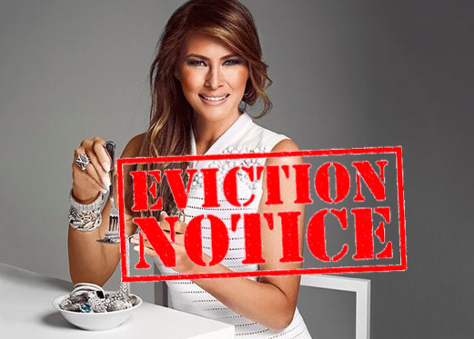 Petitioners To Melania Trump: Pay Up Or Move Out