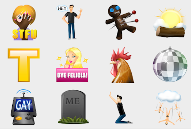 Grindr's brand-new custom emojis are a lowdown filthy