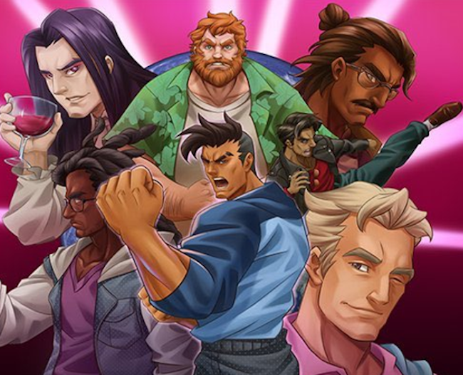 Dream Daddy: A Dad Dating Simulator Characters