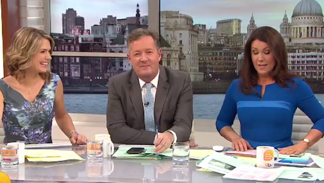 Brian Blessed 'can't stand' Piers Morgan