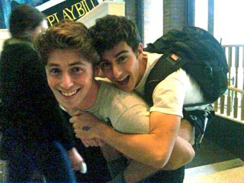 gay kissing adolescent