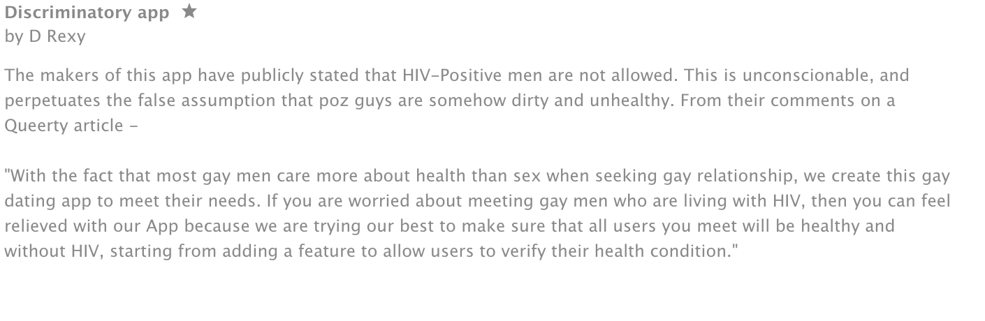 Aids a contagious new dating app