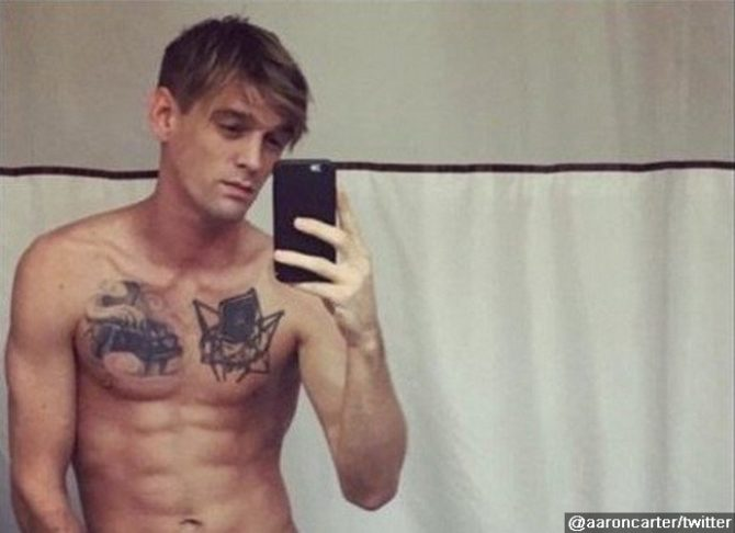 aaron carter gay
