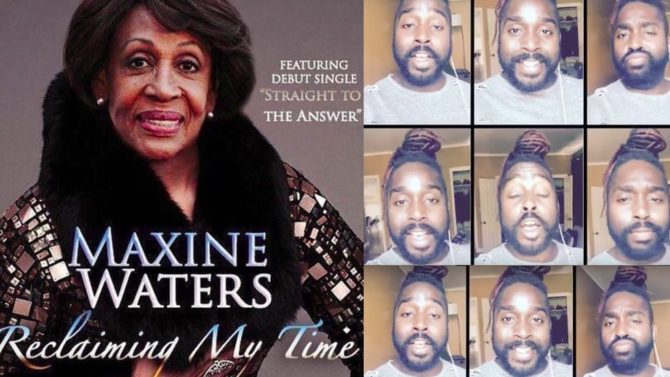 Maxine Waters' 'Reclaiming My Time' Moment Inspires A Gospel Song