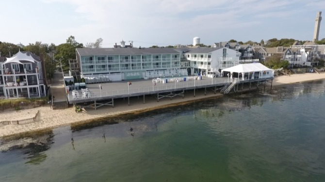 """The iconic """"D*ck dock"""" in P-town"""