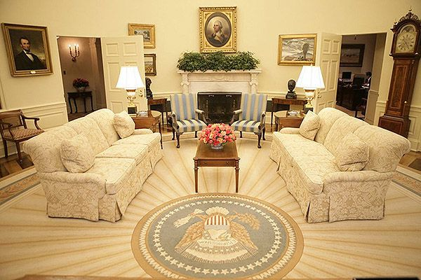 George W. Bush oval office