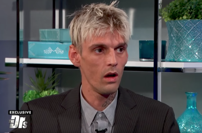 Aaron Carter Takes Drug Test on 'The Doctors,' Is Told His Combination 'Is How Many People