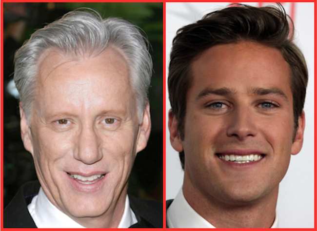 Armie Hammer, Amber Tamblyn call out James Woods for hypocritical tweet