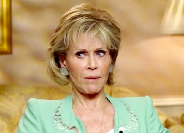 Jane Fonda speaking to Access Hollywood Canada
