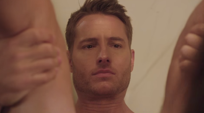 Justin Hartley in Bad Moms Christmas
