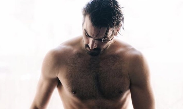 Nyle Dimarco models his birthday suit