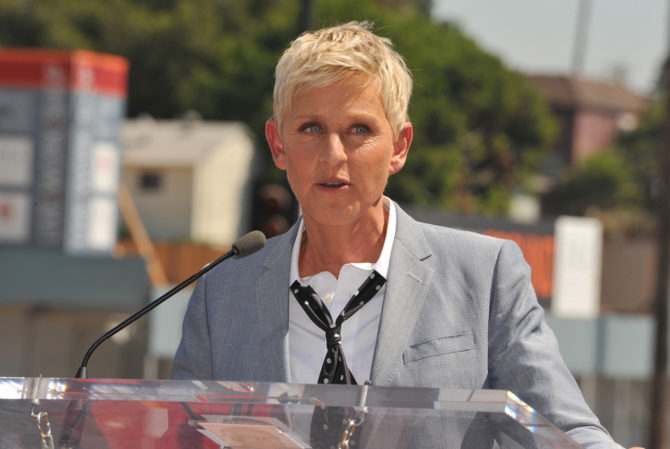 Ellen Degeneres reminisces about not being allowed to talk about relationships