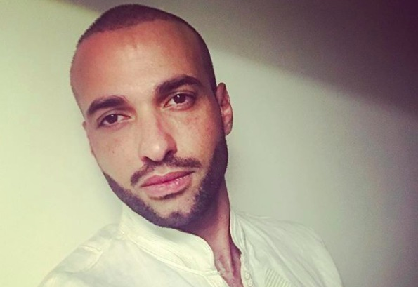 Selfie of Haaz Sleiman posted to Instagram