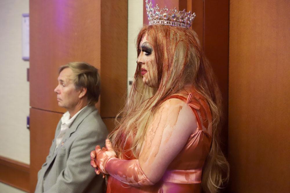 Mimi Imfurst - Miss'd America backstage