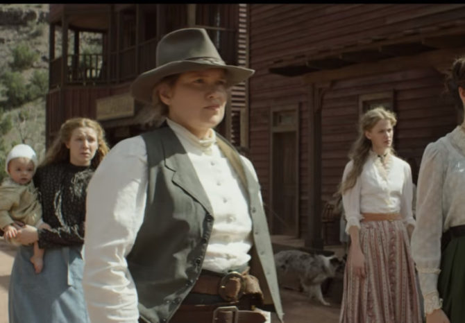Western movies with lesbian nudity