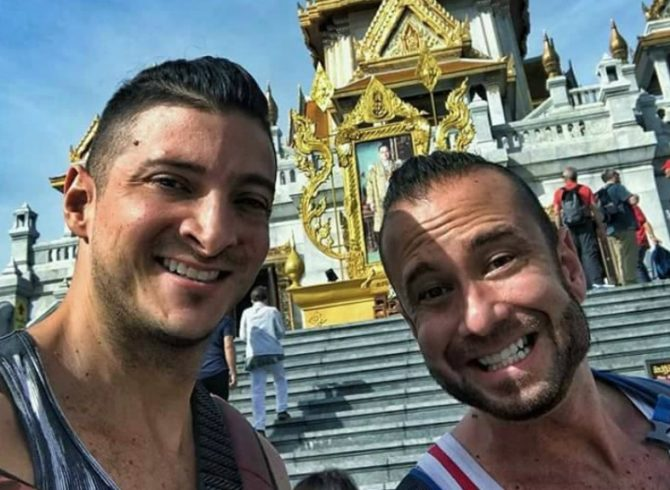 Gay Couple Arrested After Exposing Buttocks At Bangkok Temple