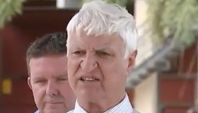 Bob Katter's freakish response to same-sex marriage vote