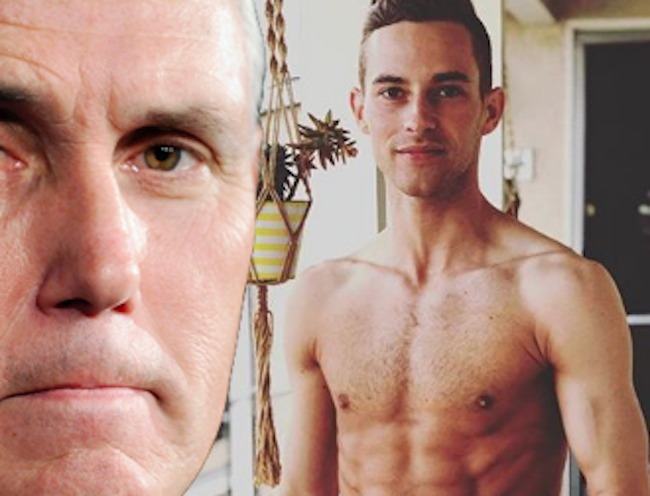 Olympian Adam Rippon Stands Up to Mike Pence's Homophobia