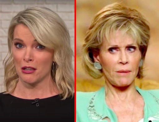 Megyn Kelly unleashes on Jane Fonda over plastic surgery, Vietnam War protests