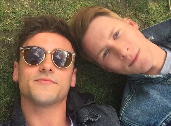 Congratulations! Tom Daley & Dustin Lance Black Are Expecting A Baby Together!