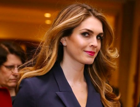 Hope Hicks, one of Trump's closest aides, is resigning