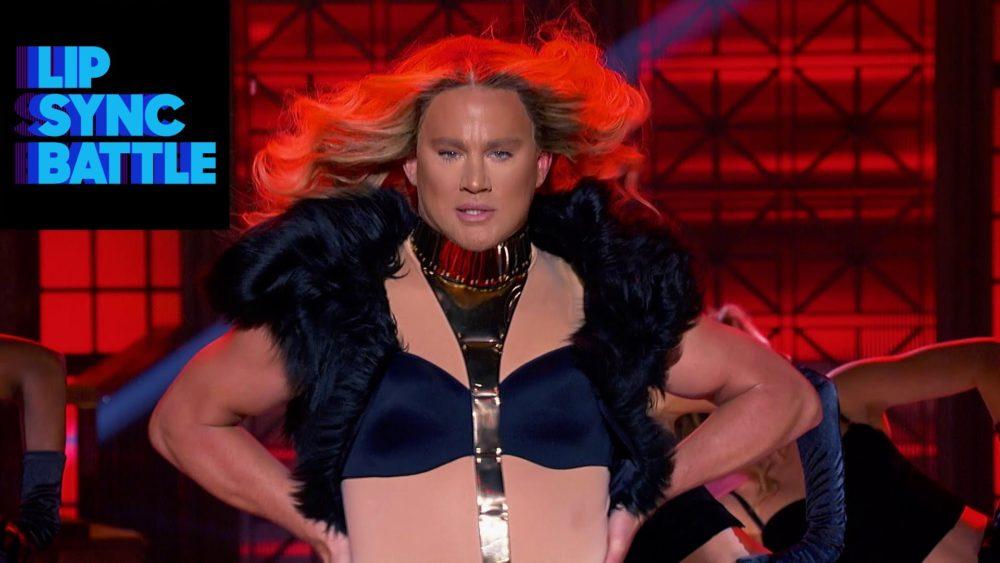 channing tatum lip sync battle drag queen