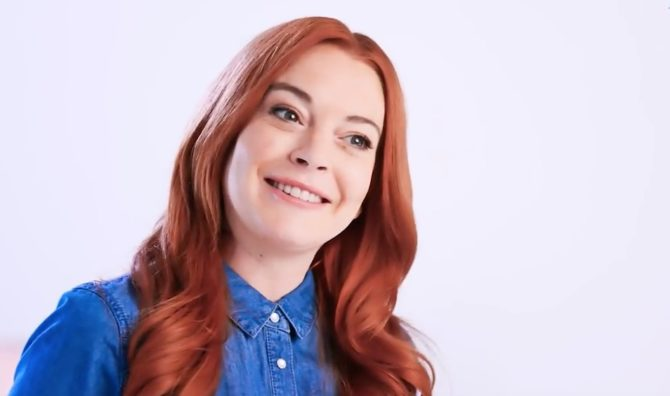 Lindsay Lohan is now the spokeswoman for Lawyer.com