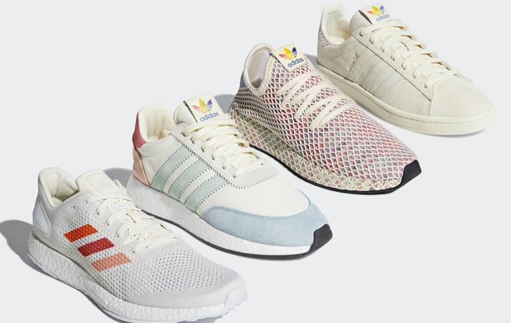 Adidas celebrates Pride with four new limited edition