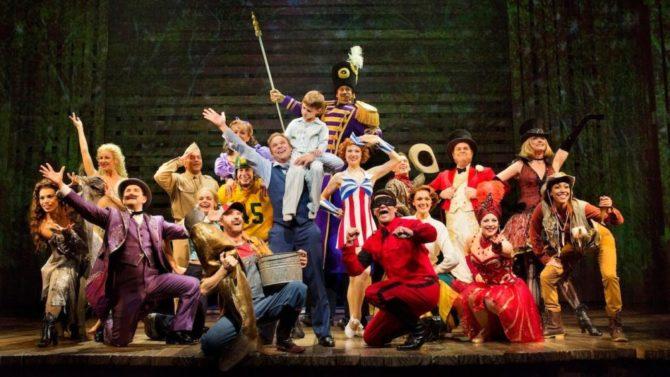 "Broadway production of ""Big Fish"""
