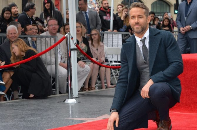 Blake Lively Supported Ryan Reynolds With Deadpool-Inspired Outfit And Nails