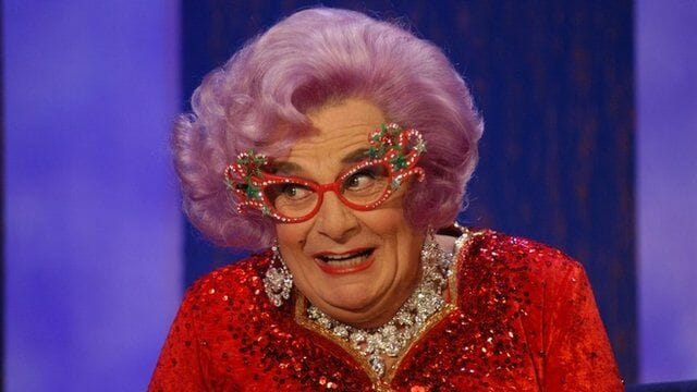Dame Edna doubles down on anti-transgender comments