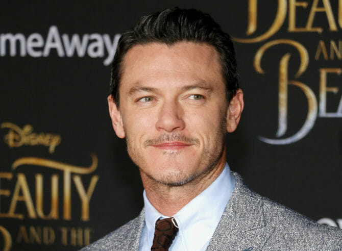 Actor Luke Evans at the premiere of
