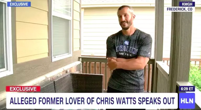 Man claims he is the secret gay lover of Chris Watts and