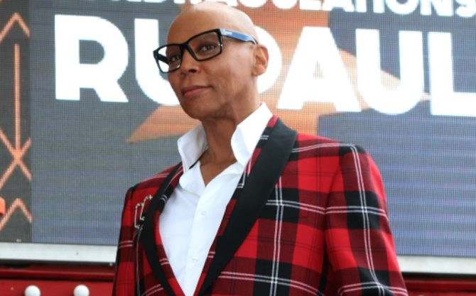 RuPaul's husband might be jealous of Ru's handsome new