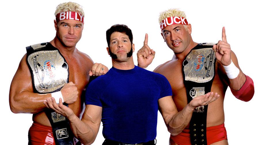 Billy Gunn and Chuck Palumbo, gay wrestlers, couple, wedding