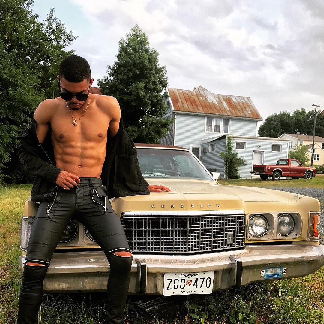 Zachary Jones, Love and Hip Hop, Atlanta, shirtless, Instagram