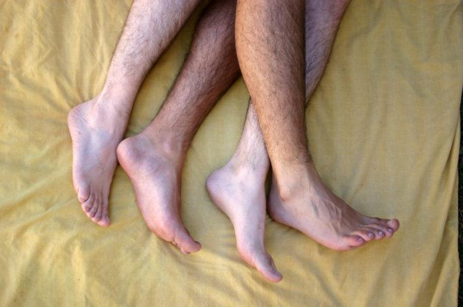Gay foot sex