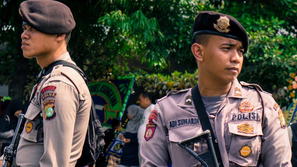 Indonesian police