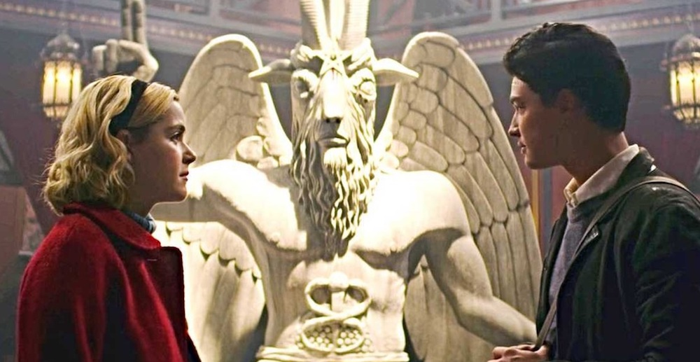 The Chilling Adventures of Sabrina, Baphomet statue