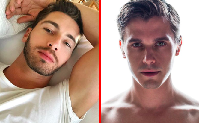 Antoni and Trace side by side