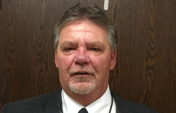 Photo of school official Lee Livengood