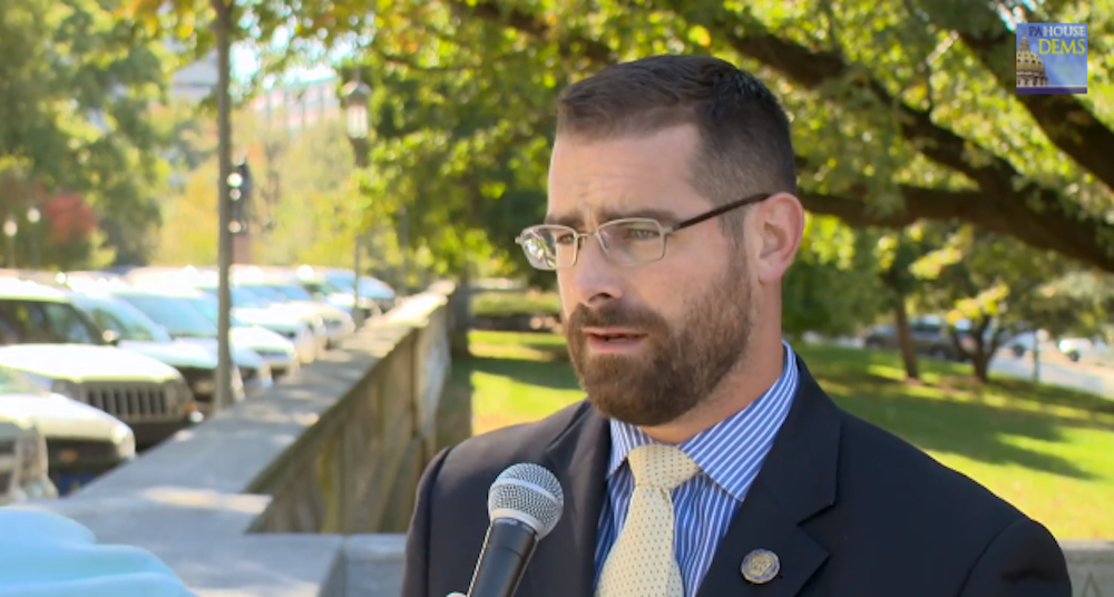 Brian Sims, Pennsylvania, Facebook, banned, gay politicians
