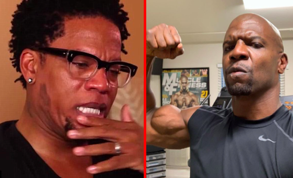 DL Hughley and Terry Crews