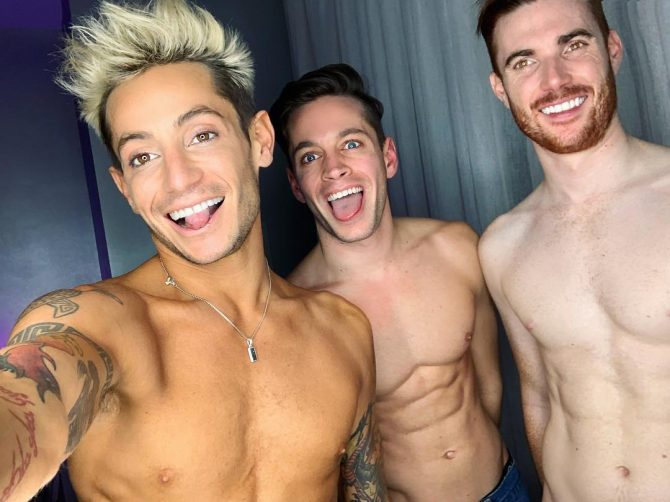 Frankie Grande throuple