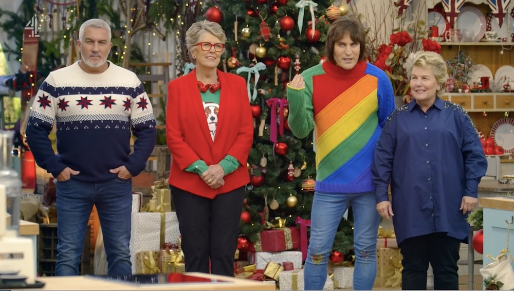 Great Christmas Bake Off 2019 The 'Great British Bake Off' holidays specials were both very gay